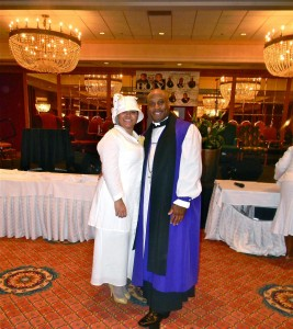 The Honorable Bishop T and First Lady V